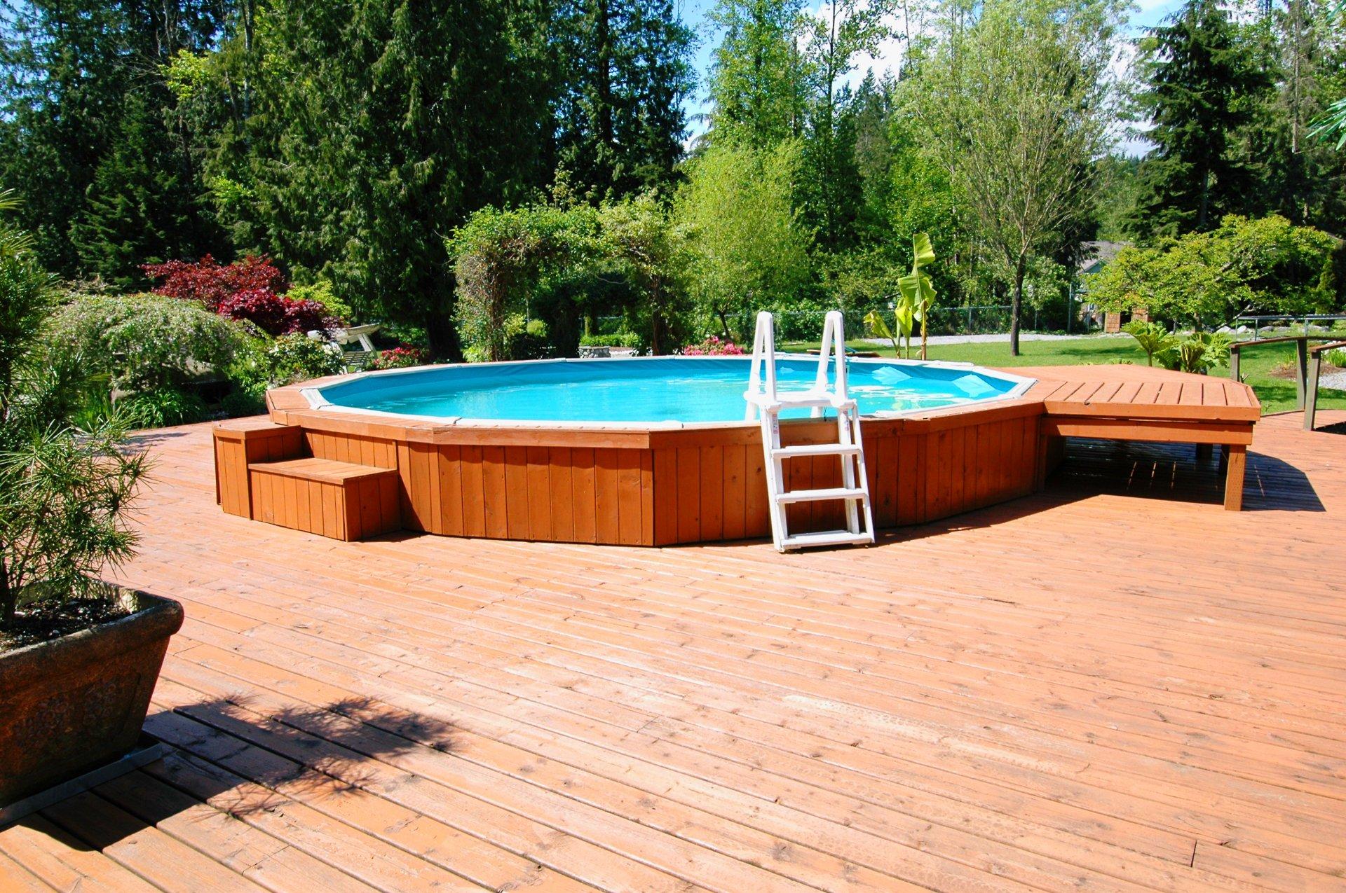 Bassin Hors Sol Parpaing constructeur piscine, vente et installation à montlouis-sur